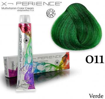 X - perience color cream 100 ml 011 verde