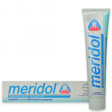Meridol dentifricio 75 ml gengive irritate