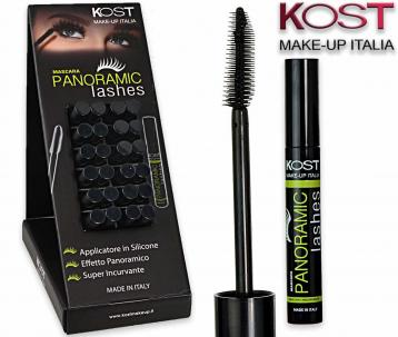 Display mascara incurvante panoramic lashes 01 24 pz