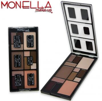 Monella trousse make-up face palette