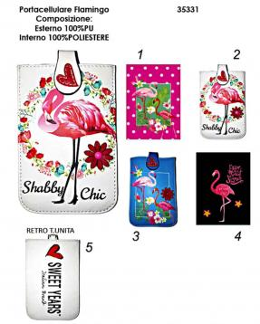 Portacellulare flamingo 1 100%pu/100%pl sweet years