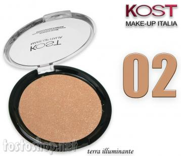 Polvere compatta perfect glow highlighter kost 02