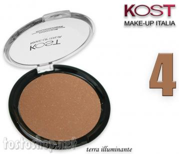 Polvere compatta perfect glow highlighter kost 4