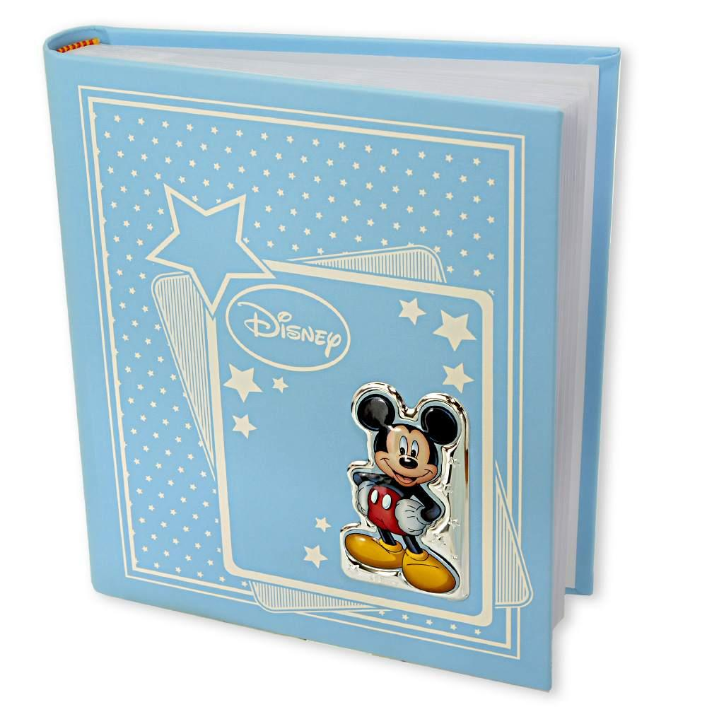Album con placca michey mouse in pelle  20 x 25
