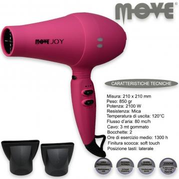 Phon move joy 2000 watt soft touch pink