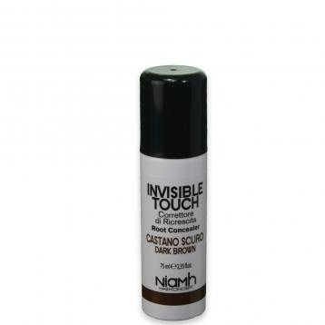 Invisible touch spray ritocco niamh 75 ml castano scuro