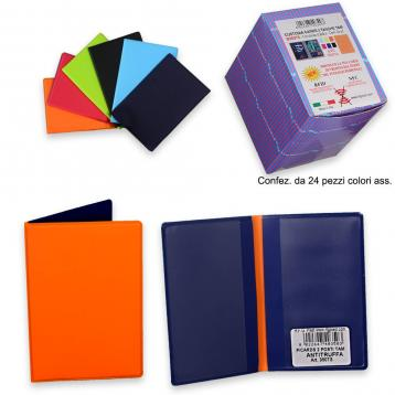 Custodia cards 2 tasche f.to. 6,8 x 9,5 chiuso