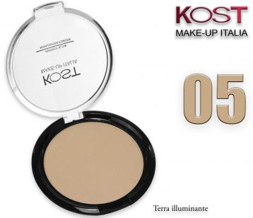 Polvere compatta perfect glow highlighter kost 05