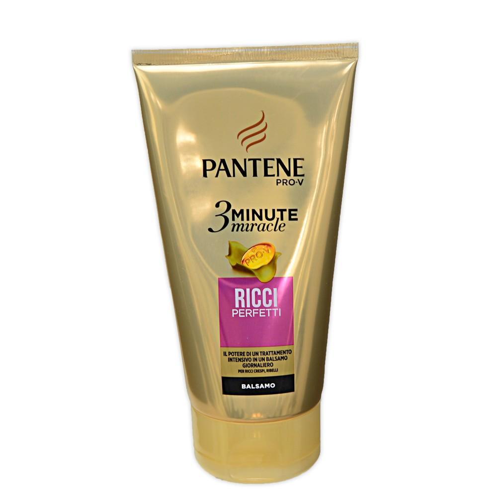 Pantene Balsamo 3 Minute Miracle 150 Ml Ricci Perfetti 8001090488480
