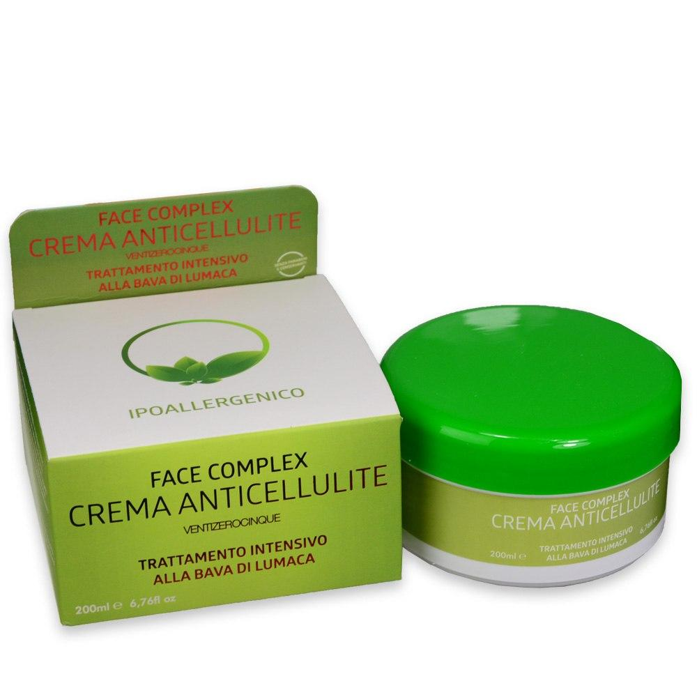 Face complex crema corpo anti cellulite bava di lumaca 200 ml