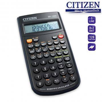 Citizen electronic calculator scientific 128 funzioni