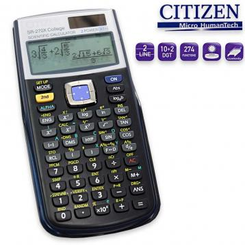 Citizen electronic calculator scientific 274 funzioni