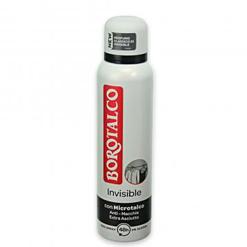 Borotalco deo spray 150 ml invisible