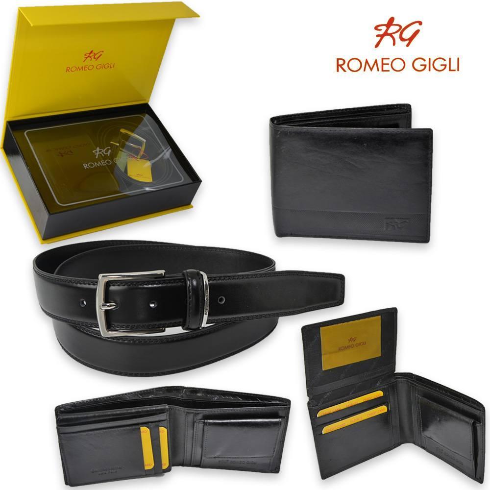 nuovi stili 5f059 89b48 Romeo gigli Parure romeo gigli cintura e portafogli RG90200 ...