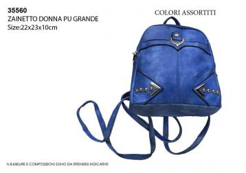 Zainetto grande donna100%pu -sweet years