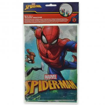 Tovaglia in plastica cm. 120 x 180 spider-man team up