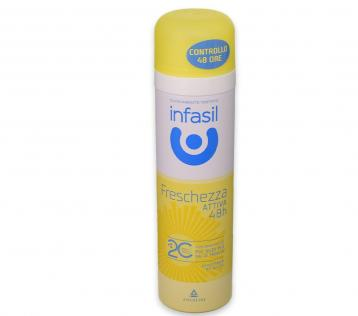 Infasil deo spray 150 ml freschezza attiva