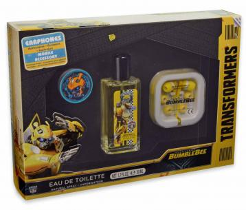 Bumblebee set edt 50 ml + auricolari + accessorio disp. mobile