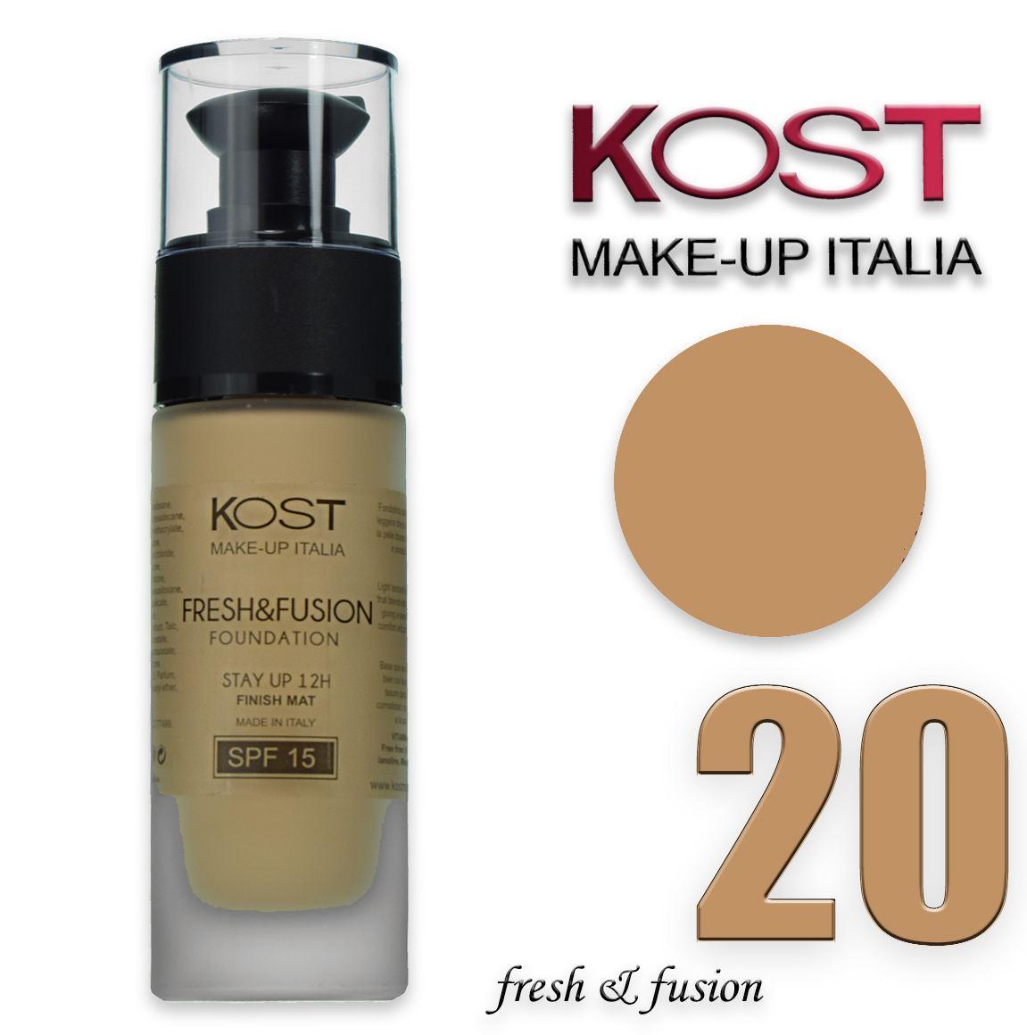 pretty nice 83a7b ffe6e Kost make up Fondotinta fresh & fusion kost 20 KFFF20 ...