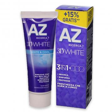 Az dent. 3d  75 ml white & cool (15% gratis)