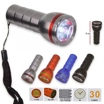 Torcia led ad alta luminosita' 30 lumen
