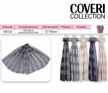 Sciarpa  100% poly coveri collection