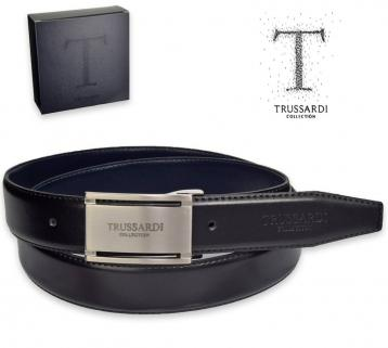Cintura pelle made in italy - trussardi collection