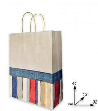 Shoppers carta f.to 32 + 13 x 41 fant.canvas m.r.