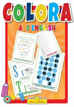 Libro da colorare abc english