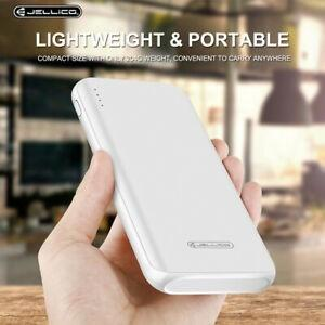 Power bank 10000 mah jellico bianco