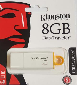 Kingston datatraveler 8gb usb 3.1