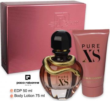Paco rabanne pure xs edp 50 ml + body lotion 75 ml