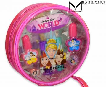 Princess lip & nail clutch