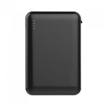 V-tac sku8865 power bank 5000mah nero type-c