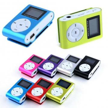Mini lettore mp3 con lcd screen