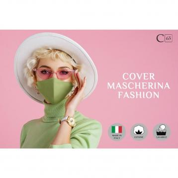 Cover mask fashion colori tinta unita