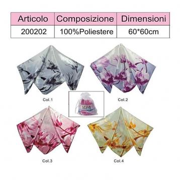 Foulard 100% poliestere coveri collection