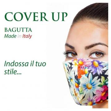 Cover up mascherina sartoriale anatomica made in italy