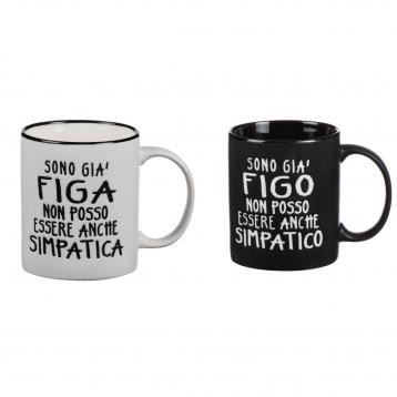 Tazza mug porcellana 340 ml