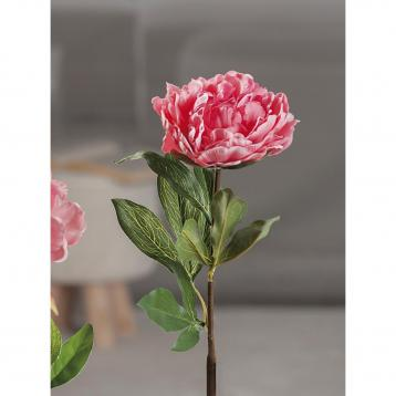 Peonia real touch per decorazioni 68 cm